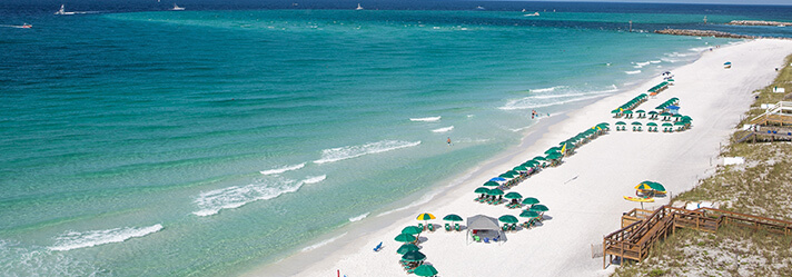 White Sand and Emerald Water Vacation