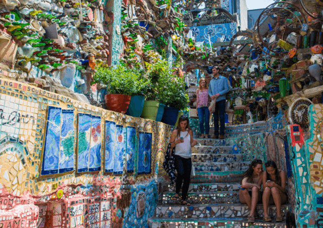 Magic Gardens Philadelphia Vacation Spot