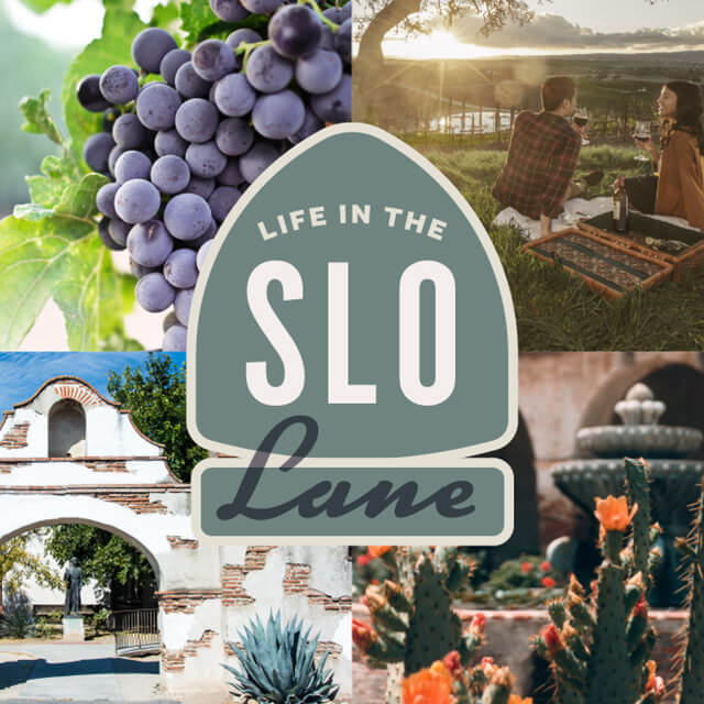 California charm of San Luis Obispo