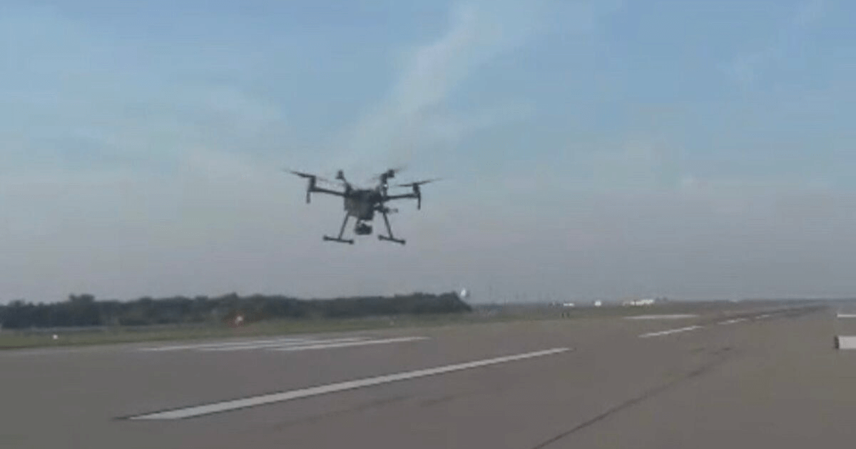 Wichita Eisenhower Airport Begins Inspections Utilizing UAS