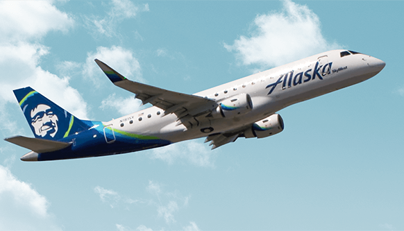 Nonstop flights with Alaska Air