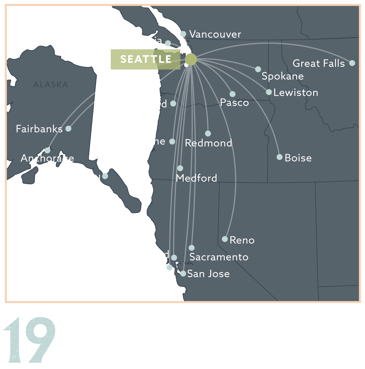 Alaska Airlines Route Map | Examples and Forms