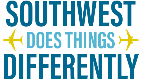 Southwest Airlines does things differently